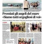 """La Regione Marche premia gli """"angeli del mare"""" a Grottammare"""